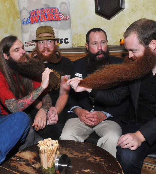 The Weirdest Reality TV Shows of All Time: Just what was missing from TV -- a show about competitive facial hair growing.