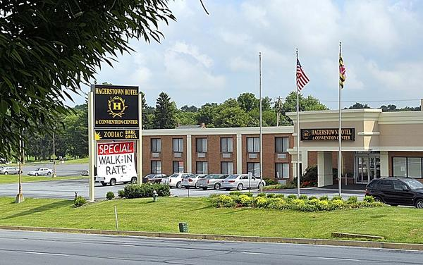 The Hagerstown Hotel & Convention Center on Dual Highway is scheduled to close this month.