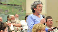 Hancock's mayor and three of its four council members expressed their support for a new War Memorial Library in Widmeyer Park during a public hearing at Wednesday's town council meeting.