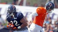 Forte impresses Bears running backs coach Spencer