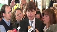 A new book about Rod Blagojevich says he believed convicted political fundraiser Tony Rezko secretly channeled cash to president Obama's 2004 Senate campaign.