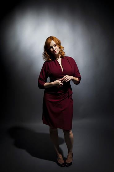 "Emmy-nominated actress Christina Hendricks' role has changed since the inception of ""Mad Men."""