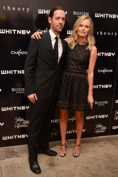 Michael Polish and Kate Bosworth attend 2012 Whitney Art Party sponsored By Theory And Saks Fifth Avenue At Skylight Soho on June 6, 2012 in New York City.