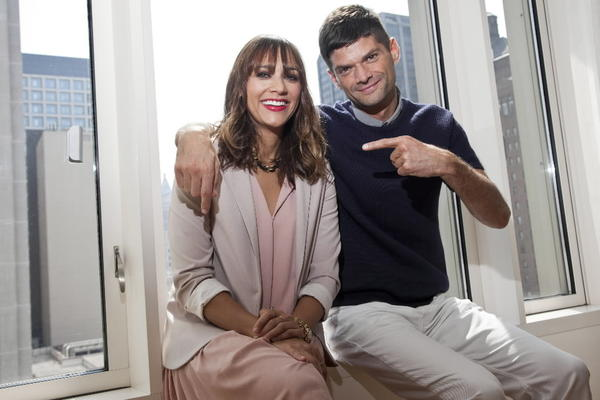 Rashida Jones and Will McCormack