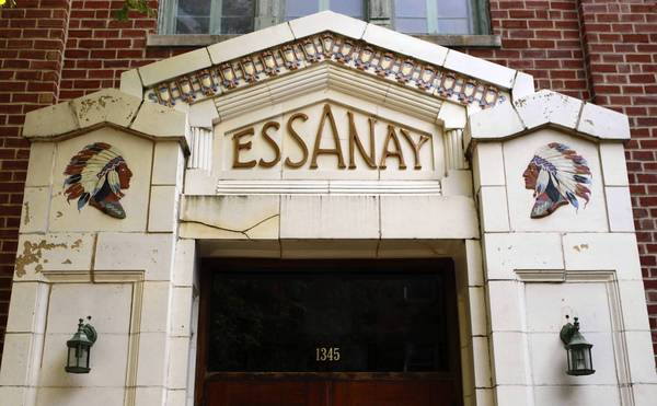 The Essanay Studios building on Argyle Street in Chicago.