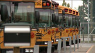 "An Indianapolis school district has recommended the firing of a bus driver over what the school called ""inappropriate contact"" with a student."