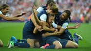 The United States women's soccer team exacted revenge on Japan with a 2-1 victory Thursday in the gold-medal game at Wembley Stadium.
