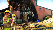 Photos: Point Mackenzie General Store Fire