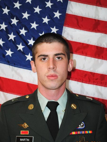 Spc. Ethan Jacob Martin, 22, died early Tuesday evening after his unit came under small-arms fire in Koragay, Afghanistan. U.S. Army Alaska officials say three other soldiers were also wounded during the attack.