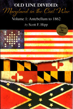 "Scott Hipp, author of Old Line Divided: Maryland in the Civil War: Volume I: Antebellum to 1862,"" will discuss his book Saturday, Aug. 11, at Boonsboro Free Library."
