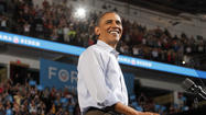 President Barack Obama in 'The Choice'
