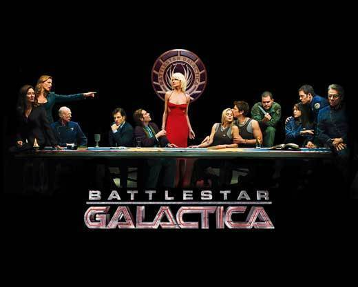 TV Deja Vu: Remakes that worked, remakes that flopped: Based on: Battlestar Galactica (1978-1979)  Hit or Miss? Hit  This is one of the few examples of a new show thats vastly superior to its original version. The original series was a kind of cheesy late-70s sci-fi show about humans fleeing clunky warrior robots created by an extinct race of space lizards, and if you were a geeky kid then, you loved it. But the reimagined version? It took on war, terrorism, religion, fanaticism, identity, sex, human rights, machine rights, where we came from, where were going and so much more. The cast and creators even talked to the United Nations about these issues. It was nominated for or won just about every award out there, and were still salivating for whatever creator Ronald D. Moore does next.