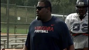 Former Virginia Tech player now coaching at UVA