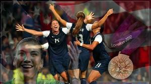 America's women grab soccer gold; Hope Solo makes leaping saves