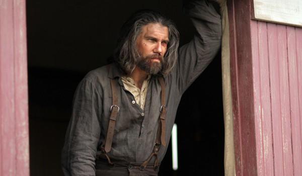"Anson Mount's character, Cullen Bohannon, has sunk low in Season 2 of ""Hell on Wheels."""