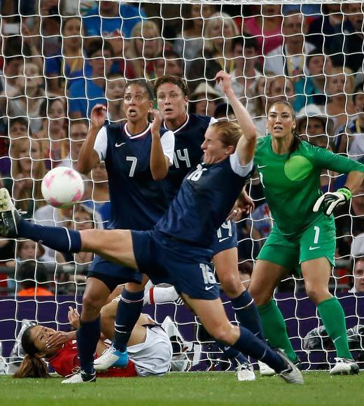 2012 Summer Olympics Best and Worst moments: The U.S. womens soccer team now has five gold medals after defeating Japan 2-1 in the 2012 Summer Olympics final match, which also avenged them the loss to Japan in the 2011 World Cup final. The only year since womens soccer became an Olympic sport that the U.S. did not bring home the gold was in 2000, when they fell to Norway in the finals.  -- Andrea Reiher, Zap2it