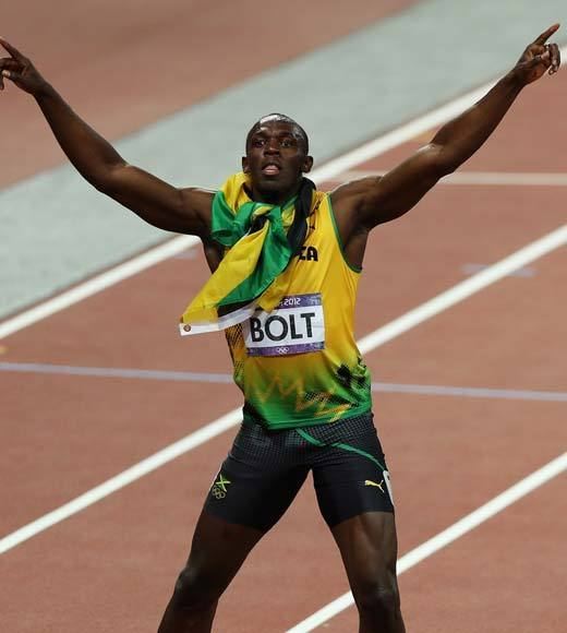 "Usain Bolt made history with his 200m gold medal, becoming the first man to win that event at two Olympic games. He has now pulled the double win (the 100m and 200m) at back-to-back Olympics. And some speculate we still haven't seen him run his fastest.<Br><BR>-- <i><a href=""http://twitter.com/andrealeigh203"">Andrea Reiher</a>, <a href=""http://www.zap2it.com"">Zap2it</a></i>"