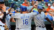 It may be a good thing the Orioles only face Billy Butler a handful of games each season.