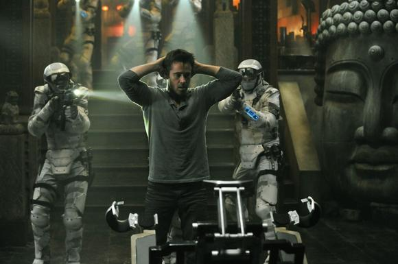 "Colin Farrell stars in Columbia Pictures' ""Total Recall."""