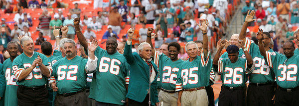 The Miami Dolphins team that achieved the only perfect season in NFL history will be honored by the White House next Tuesday, more than 40 years after its accomplishment.