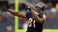 Former Bears wide receiver Sam Hurd was arrested Thursday in San Antonio for violating his bond as he awaits the start of his drug trial, the U.S. Marshals service said Thursday.