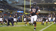 No sign of Urlacher at exhibition opener