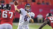 Ravens win preseason opener 31-17 over Falcons