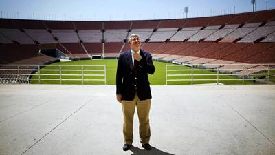 No evidence Coliseum chief illegally sought USC job, agency says