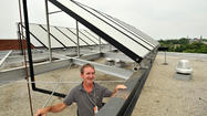 Aging public housing buildings in Annapolis get new solar panels