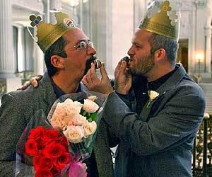 Gay nuptials