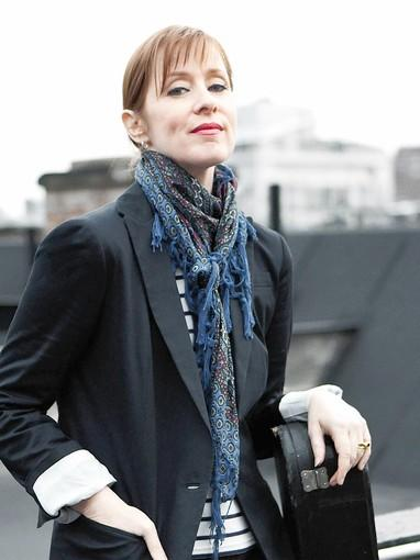 Neo-folk singer Suzanne Vega performs at the Mauch Chunk Opera House Aug. 10.