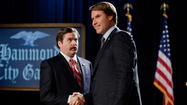 "Talk about your undecided voters. The new Will Ferrell/Zach Galifianakis vehicle ""The Campaign"" can't make up its mind about dumb versus smart, crass versus crass with a conscience, or cheap caricature versus satire stoked by a sincere call to action. Comedies with something to say often go about saying it a dozen different ways, but this intended skewering of lowball politics and America's corrosive cynicism regarding our elected officials, and how they got that way, struggles to film a cheap sight gag to decent effect."