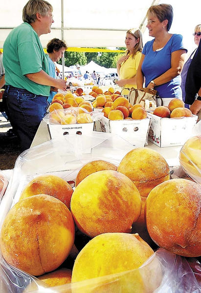 Fresh peaches, peach pies, peach ice cream, peach pie contest and more Saturday, Aug. 11 and Sunday, Aug. 12, at Leitersburg Ruritan Communitiy Park in Leitersburg.