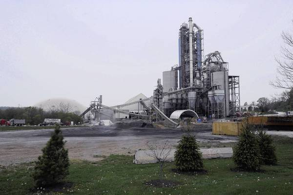 Lehigh Cement Plants : Tour and briefing offers planners an update of lehigh