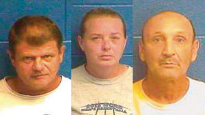 Mercer County trio accused of sending marijuana through mail