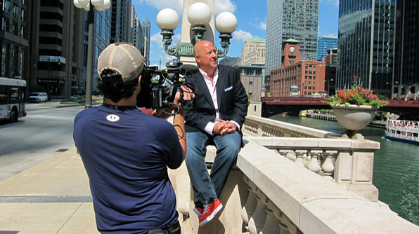 Travel Channel host Andrew Zimmern returns to film his second Chicago episode next week.