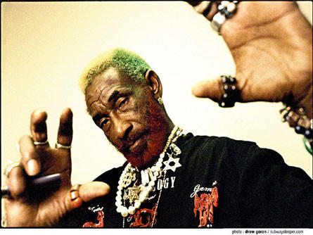 "Lee ""Scratch"" Perry is a dub reggae legend."