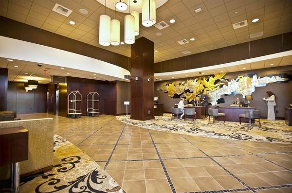 Past the lobby, all 300 rooms in the new hotel at the Sands Casino Resort Bethlehem have amenities like wireless Internet, media-hubs and high-definition flat-screen televisions.