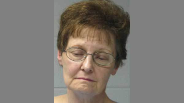 Booking photo of Patricia Cooper