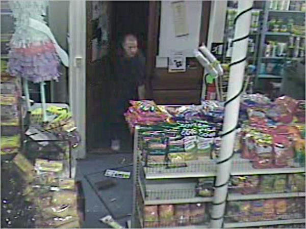 An unknown man forcibly entered Kari-Mar Grocery at 264 S. Third St. in Chambersburg, Pa., at 2:03 a.m. and stole a large quantity of cigarettes.