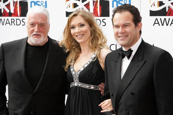 Jon Lord, Natasha Marsh and Gerald Finley attend the Classical BRIT Awards at Royal Albert Hall in 2010.