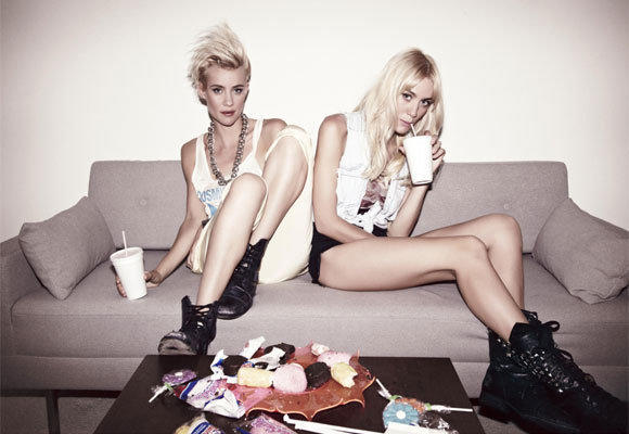 Olivia, left, and Miriam Nervo, who perform as NERVO, were among the 19 female DJ acts who played at Tomorrowland in Belgium.