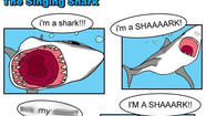 Singing shark meme