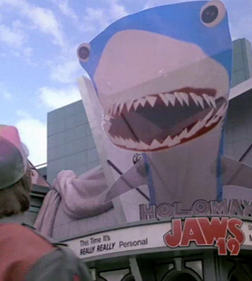 From 'Jaws' to 'Jabberjaw': 25 memorable sharks from pop culture: Not only are we supposed to have flying cars in 2015 -- the year to which Marty McFly travels in Back to the Future Part II -- but also Jaws 19 will be in theaters near you.