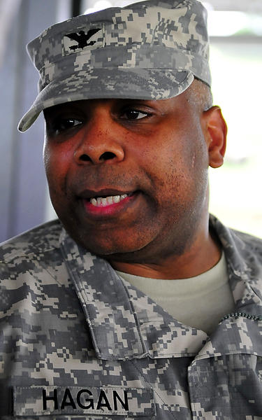 Col. Victor S. Hagan becomes the 47th commanding officer of Letterkenny Army Depot.