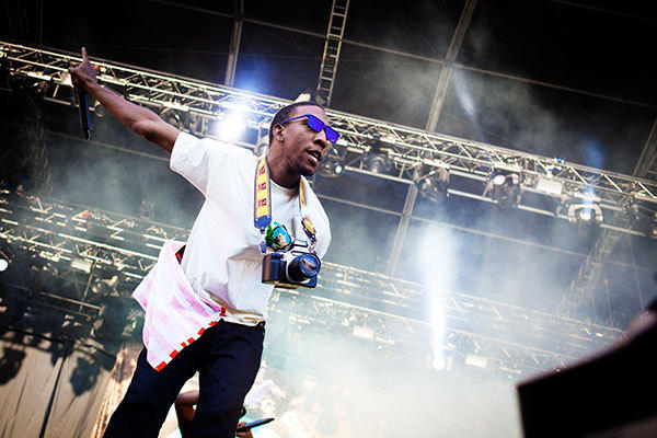 Hip-hop group Odd Future of the U.S. performs at the Oya music festival in Oslo August 10, 2012.