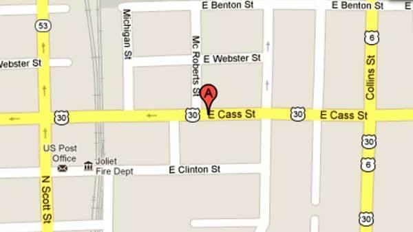 200 block of East Cass Street in Joliet
