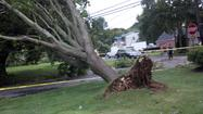 Reports confirm a tornado touched down in Bohemia, Long Island on Friday Afternoon.
