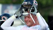 BOURBONNAIS -- Brian Urlacher watched practice wearing a floppy hat Saturday, but the Chicago Bears still don't have a timetable for when the linebacker will return to action.
