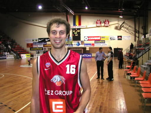 Former William and Mary standout Adam Hess has prospered in Europe as a pro basketball player. COURTESY OF NYMBURK TEAM